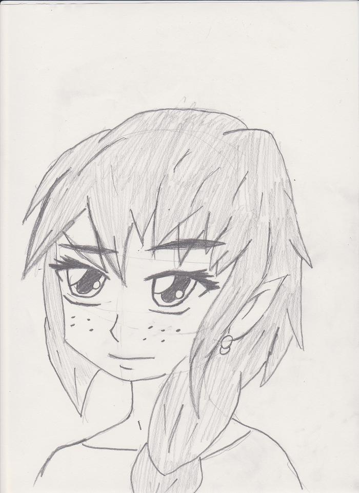 Elf Girl face