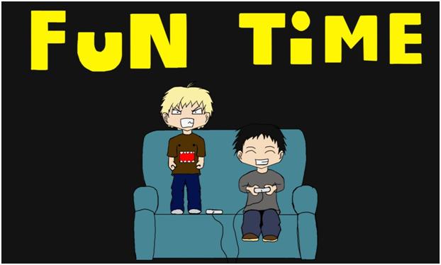Fun time Title screen
