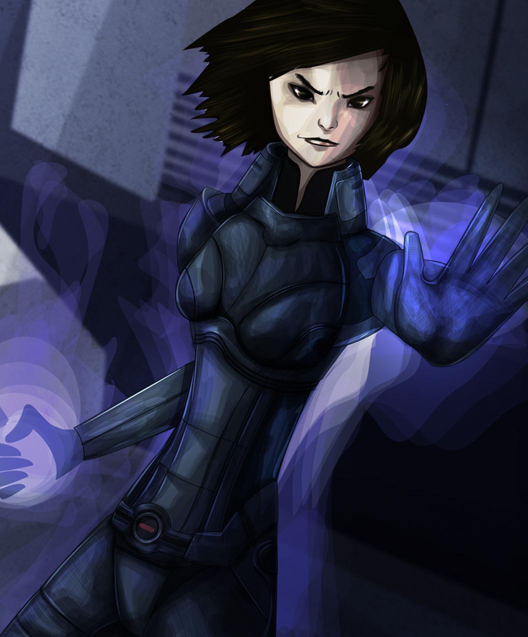 Mass Effect - The Adept