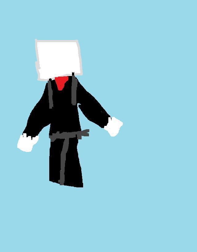 slender man in minecracft