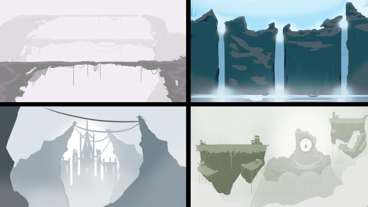 Some goodolfashion concept art