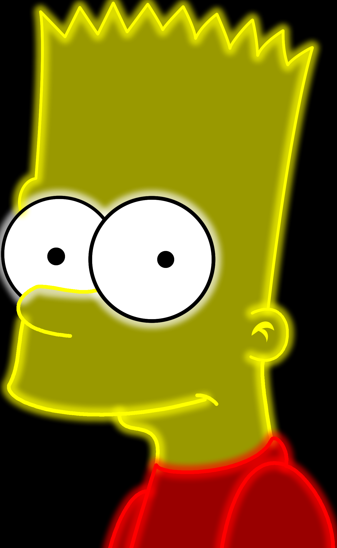 Neon Bart