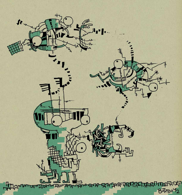 'Gravitationing Robotics'