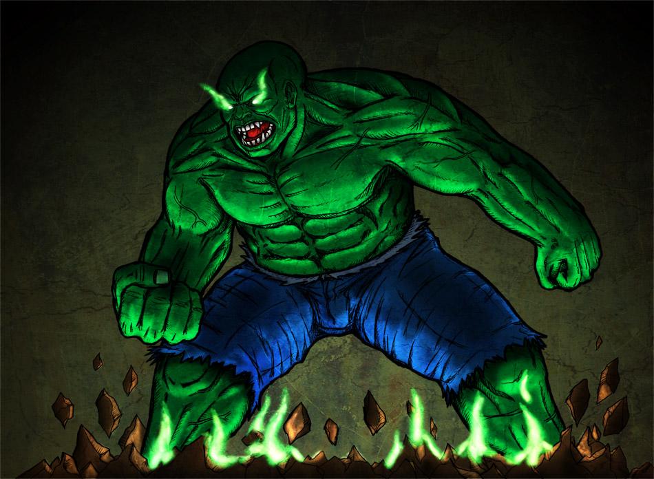 Demonic Hulk