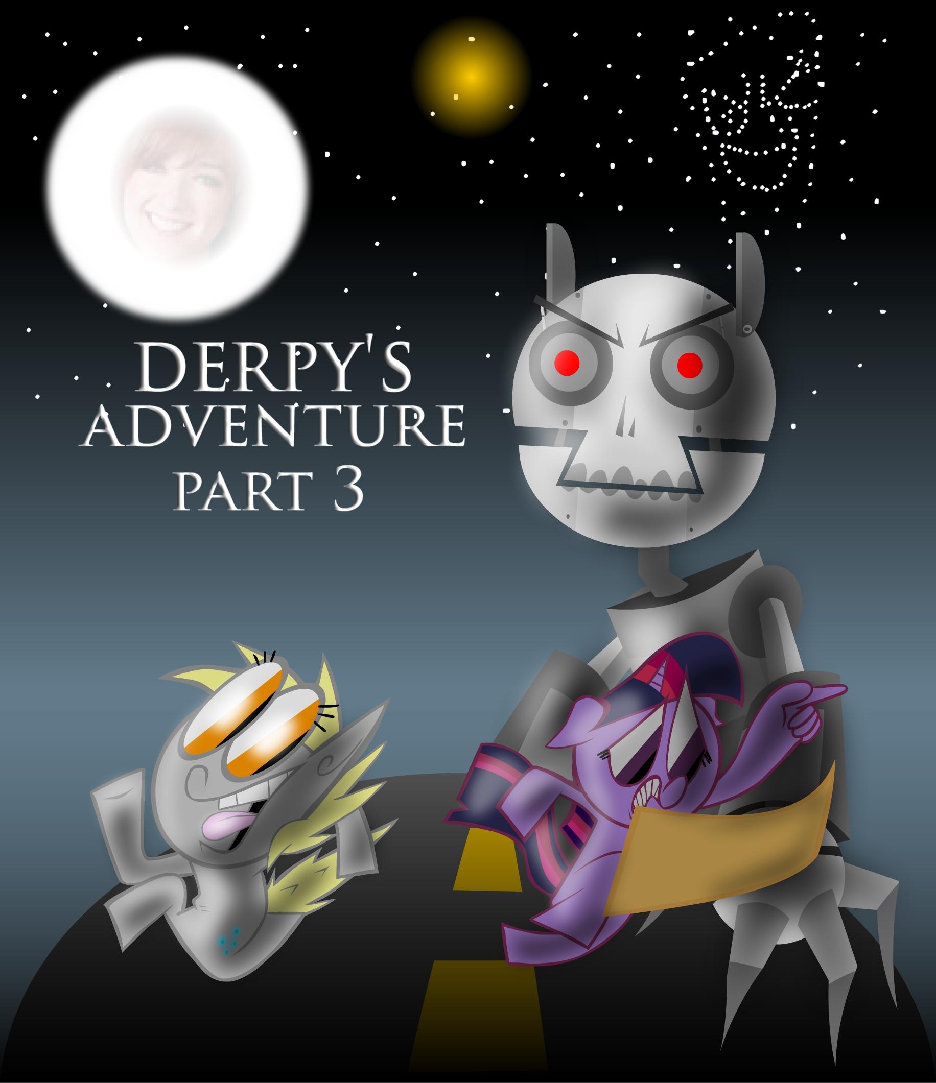 derpy's adventure 3 poster
