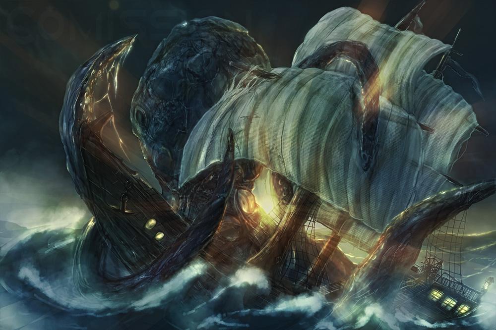 Ancestral Kraken Cover
