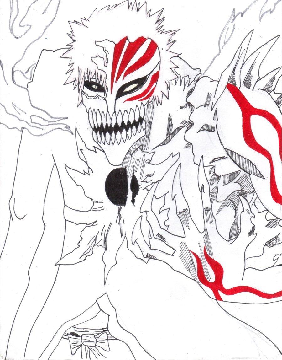 Hichigo Line art