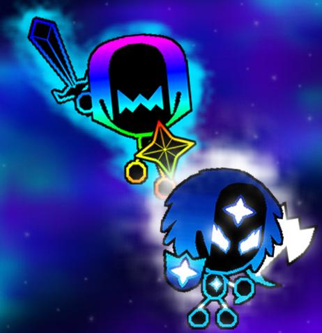 Power Spriter and Fierce Star
