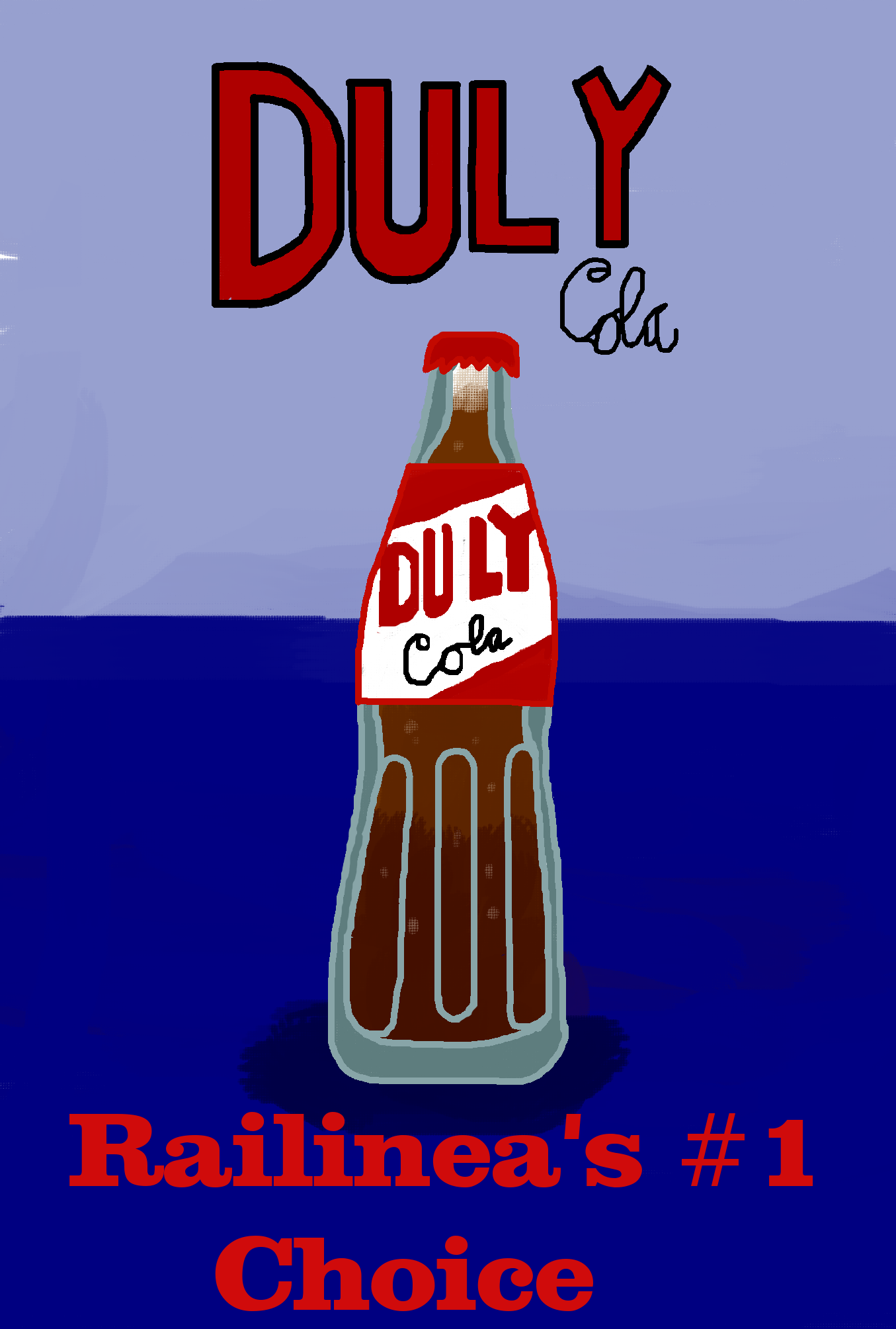 Duly Cola Poster