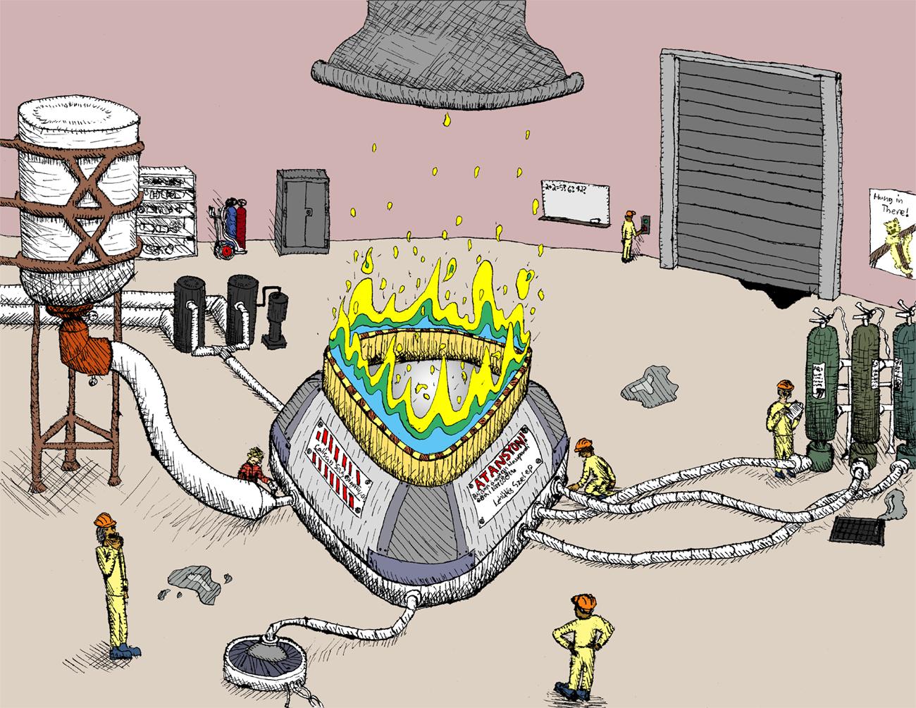 Experimental Reaktor