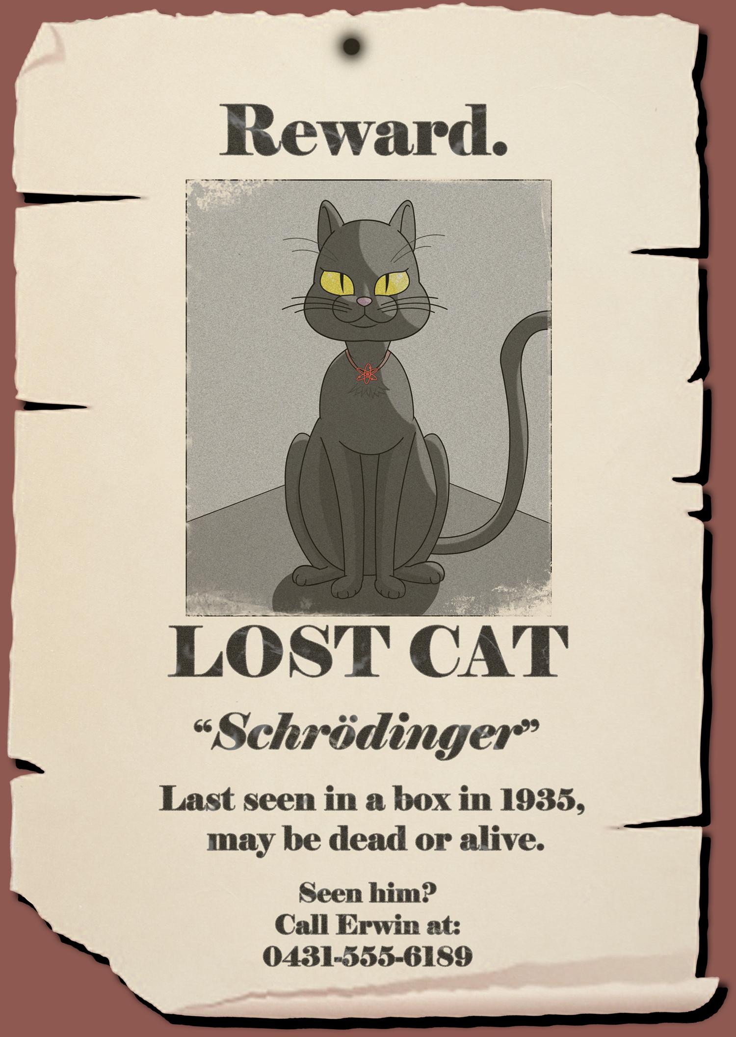 Schrodinger's cat by Tomsan on Newgrounds