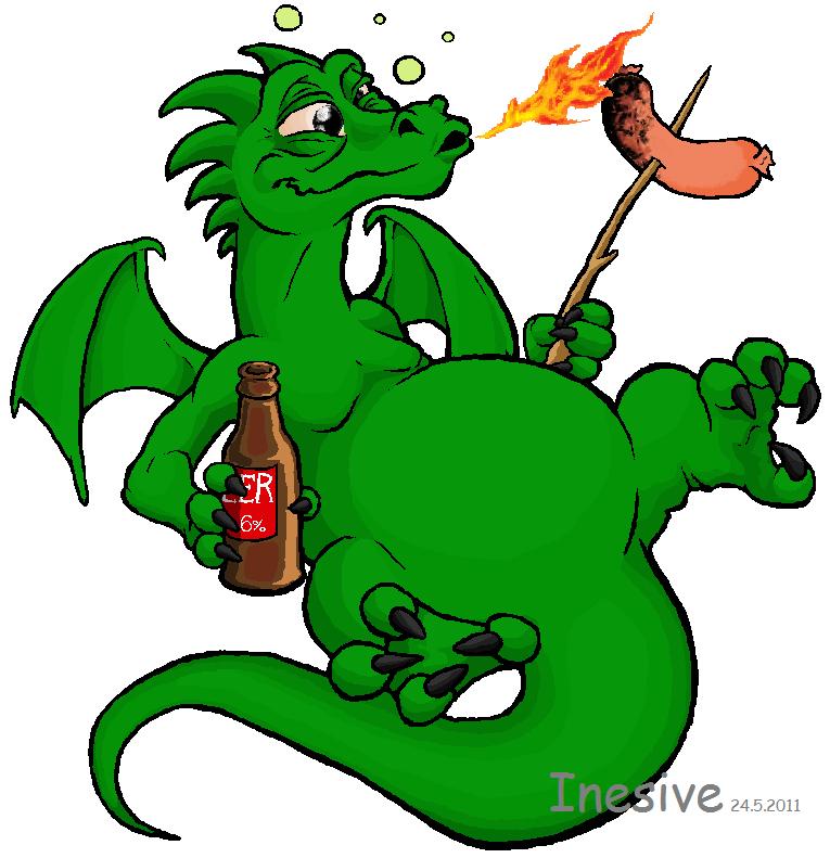 Drunk Dragon (Paint 7)