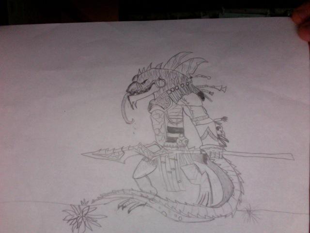 evil lizard