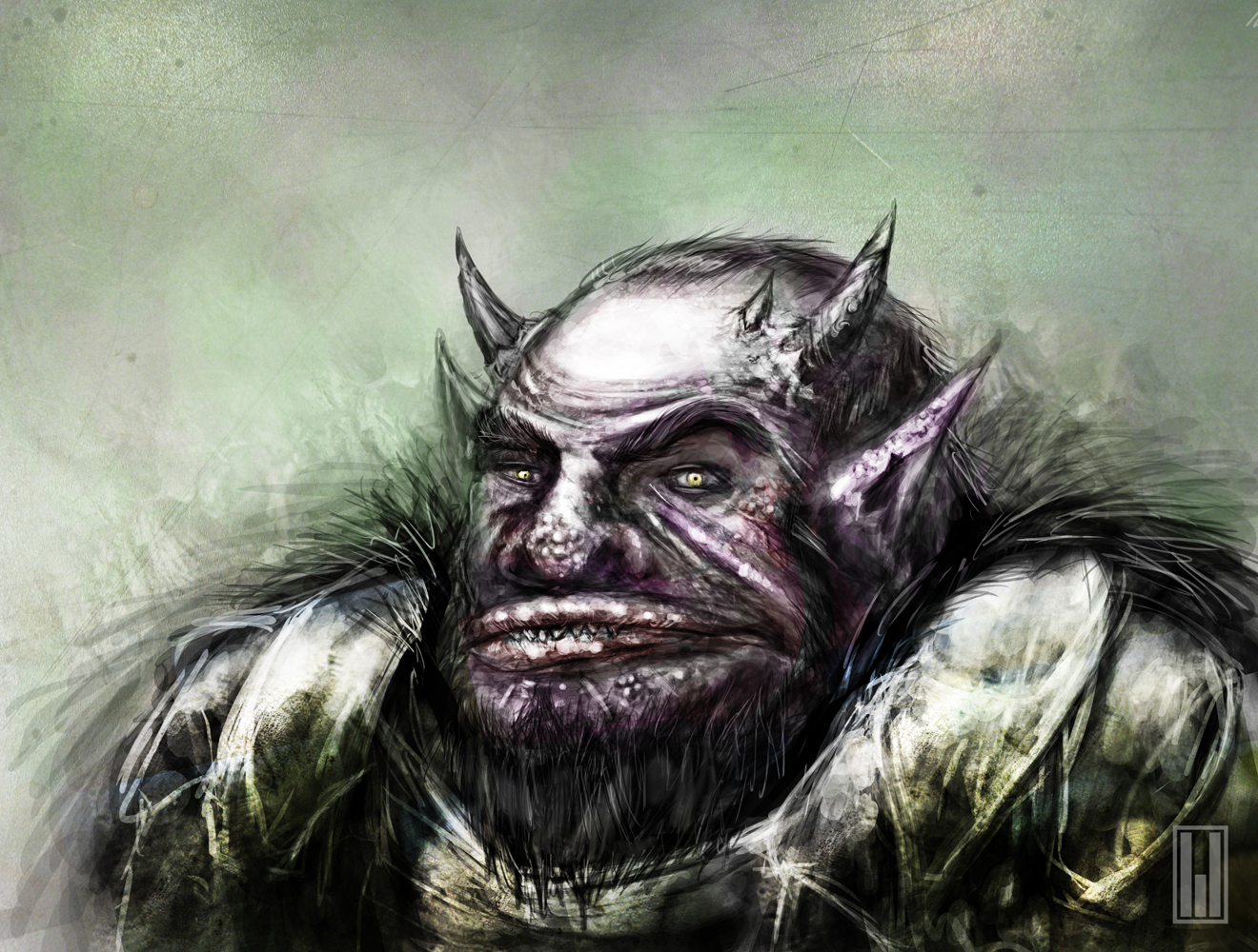 The friendly orc next door
