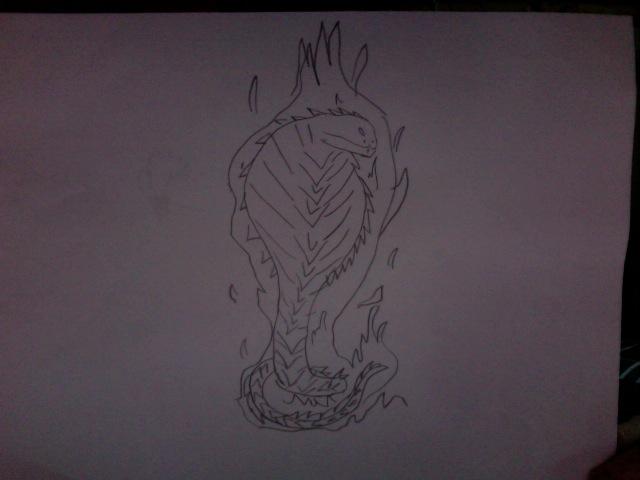 flaming cobra