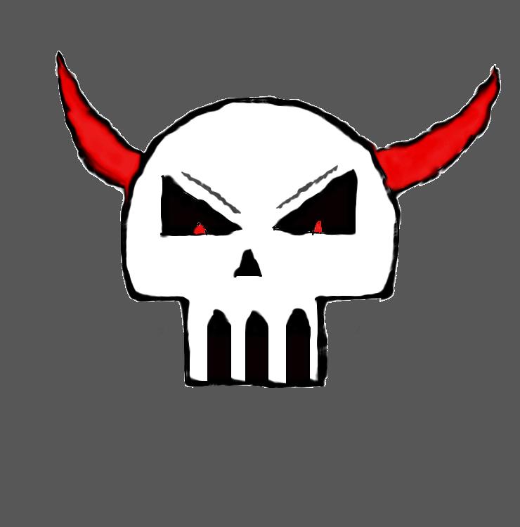 punk skull trasnsformation