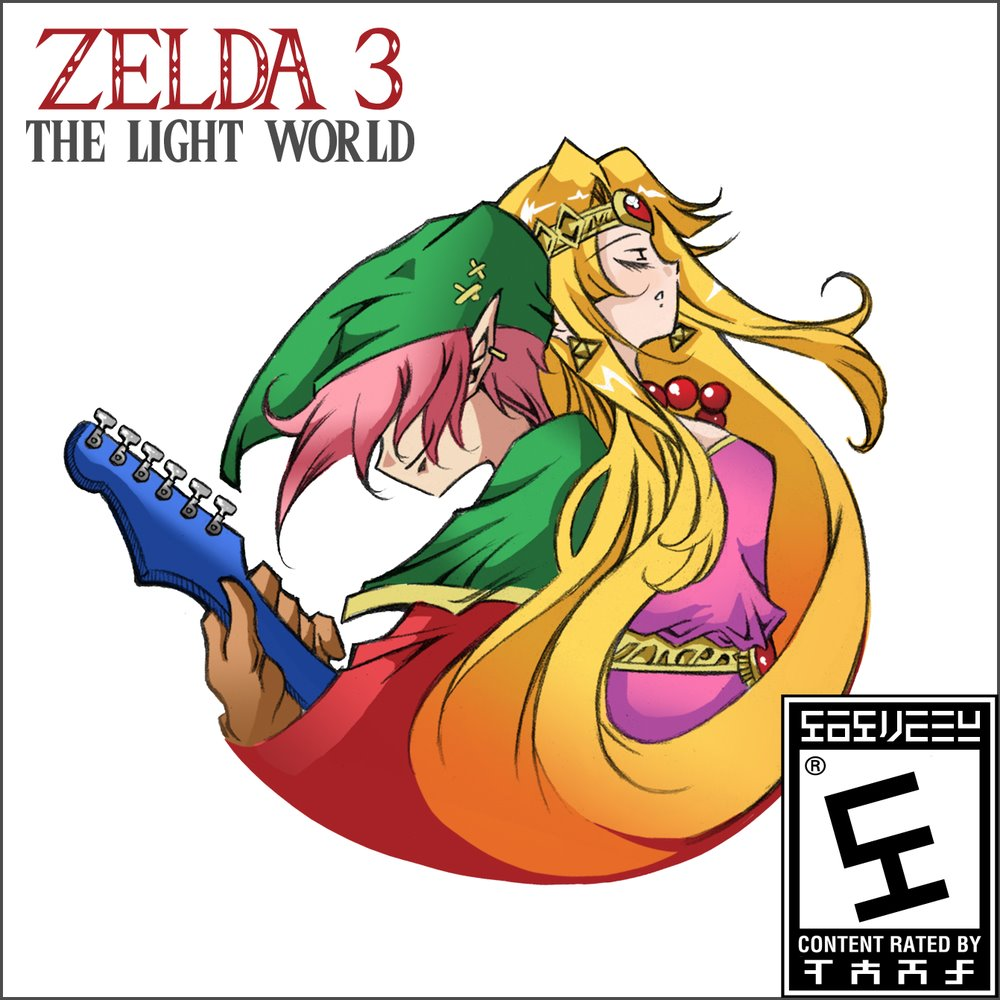 Zelda 3 The Light World Cover
