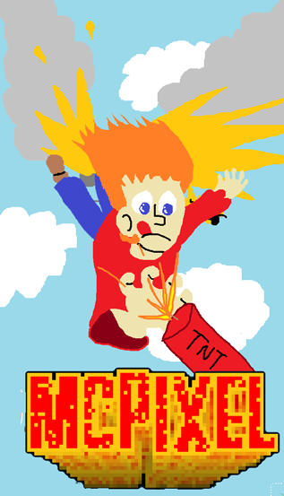 McPixel Fanart I Made To Save
