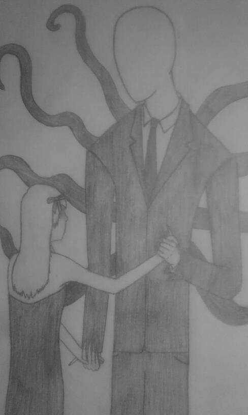 Dancing with Slender Man