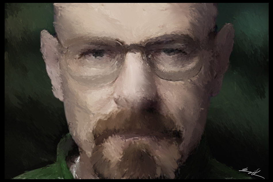 Walter White Fan Art