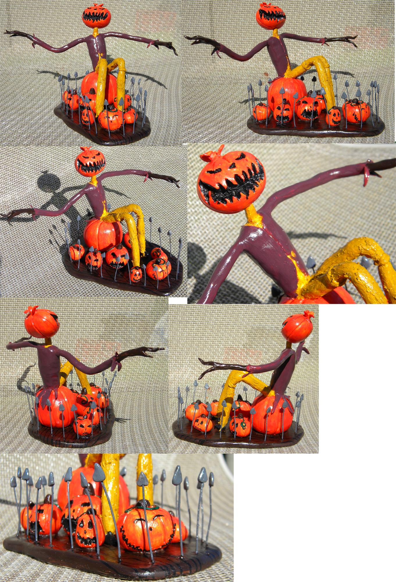Pumpkin King Sculpture