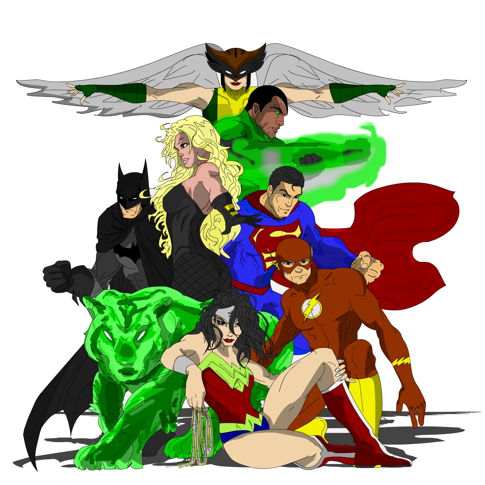 Justice League from Teen Titan