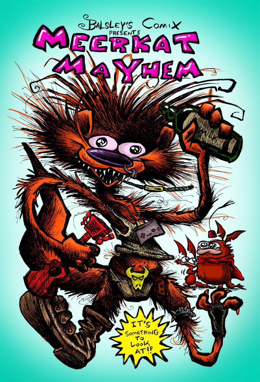 Meerkat Mayhem book cover