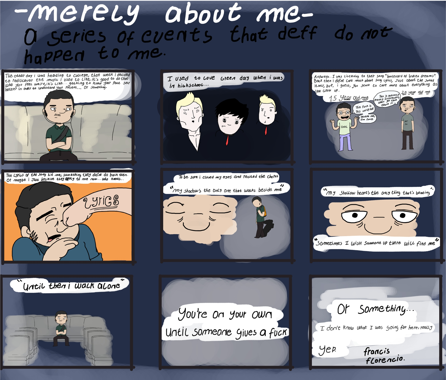 [Comic] Merely about me - 2