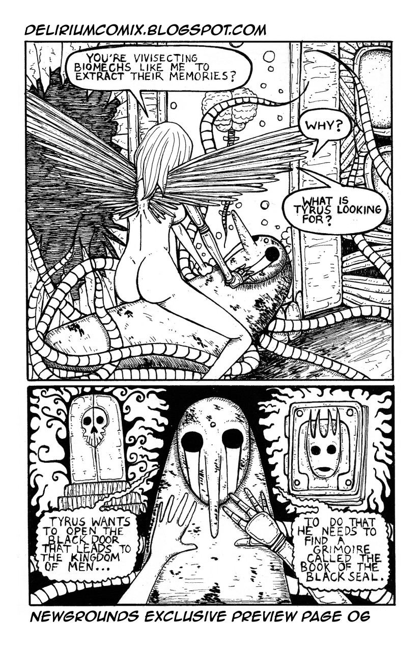 Delirium Issue 2 Preview 06