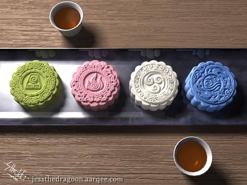 Avatar Snowskin Mooncakes