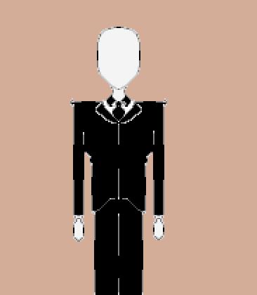 Pixel Slenderman