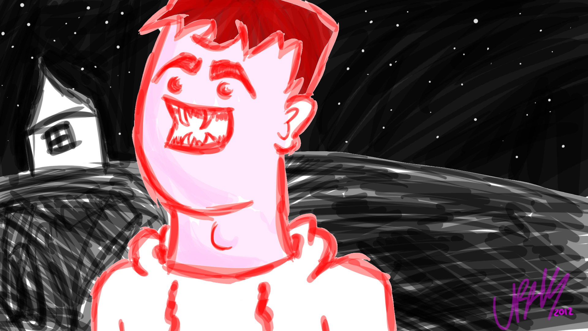 Red Vampire Guy