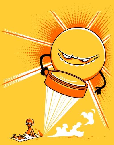 The Sun is a Jerk