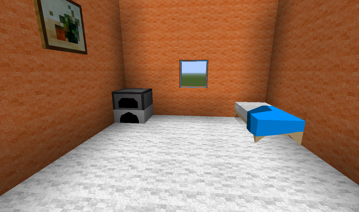 The Room in Minecraft