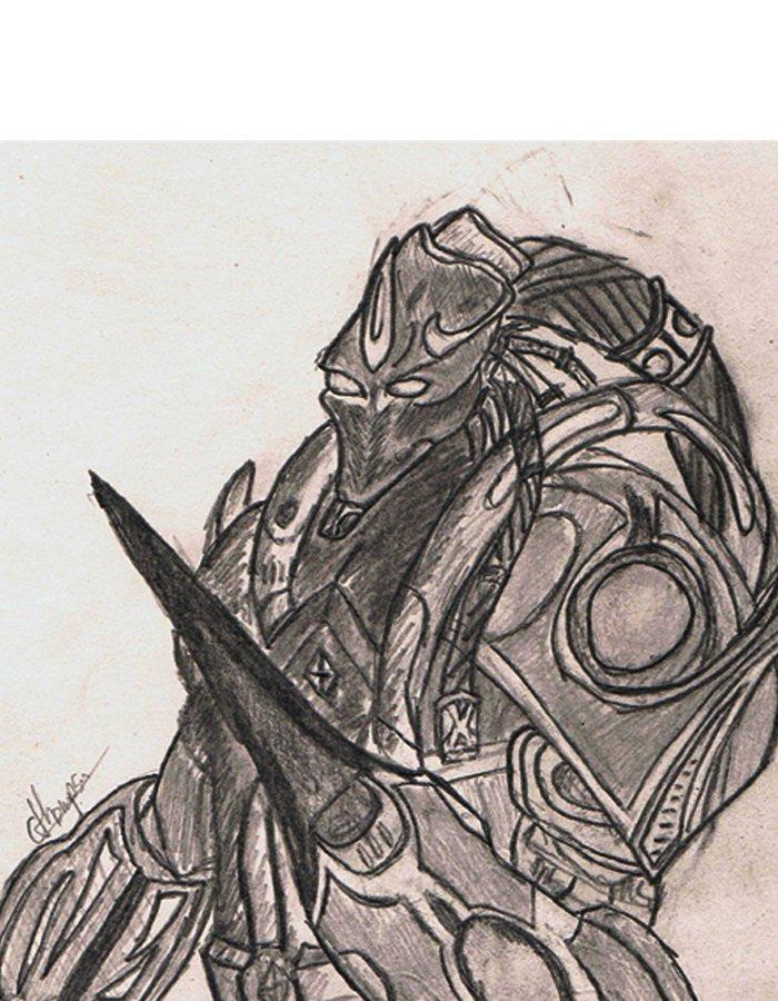 starcraft 2 sketch