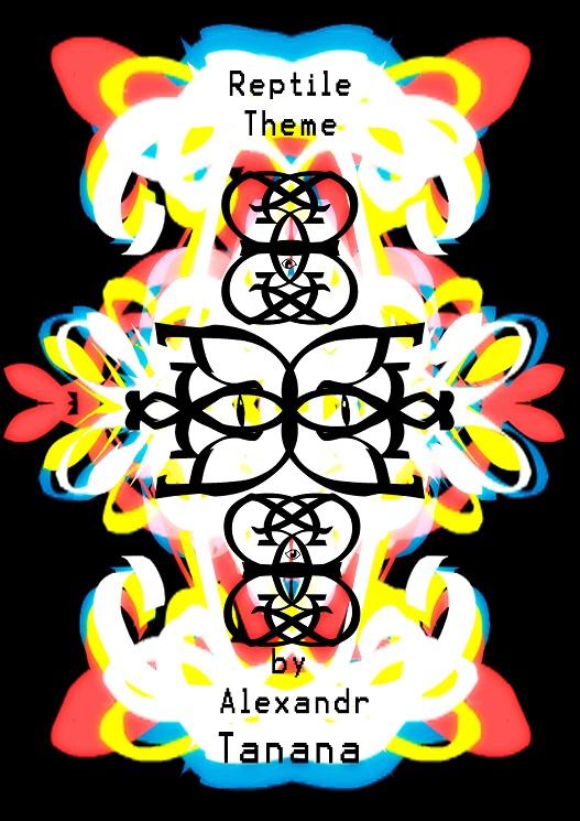 Reptile theme poster