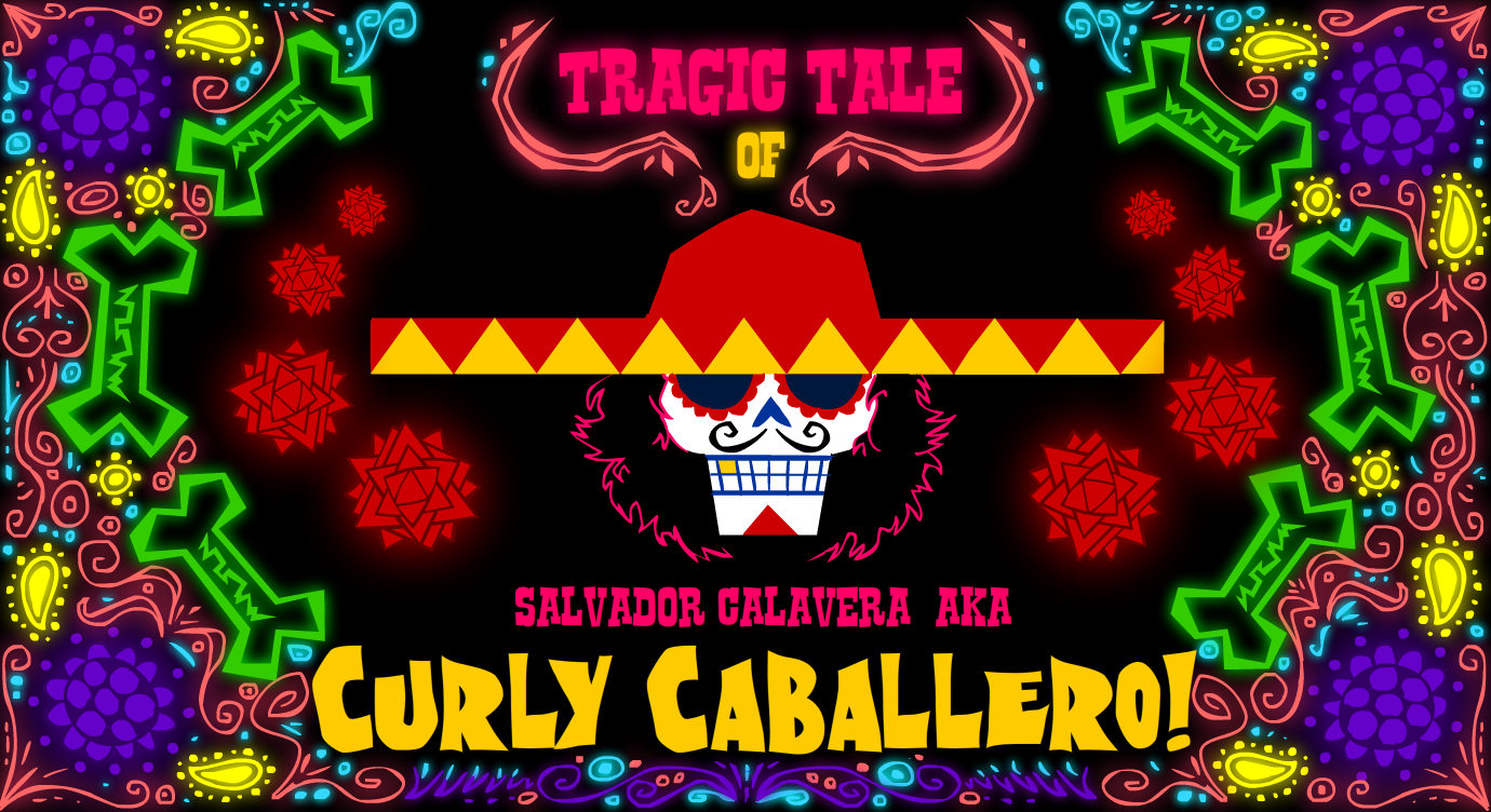 Curly Caballero teaser poster