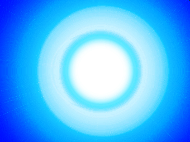 Bright Blue Orb Thingy