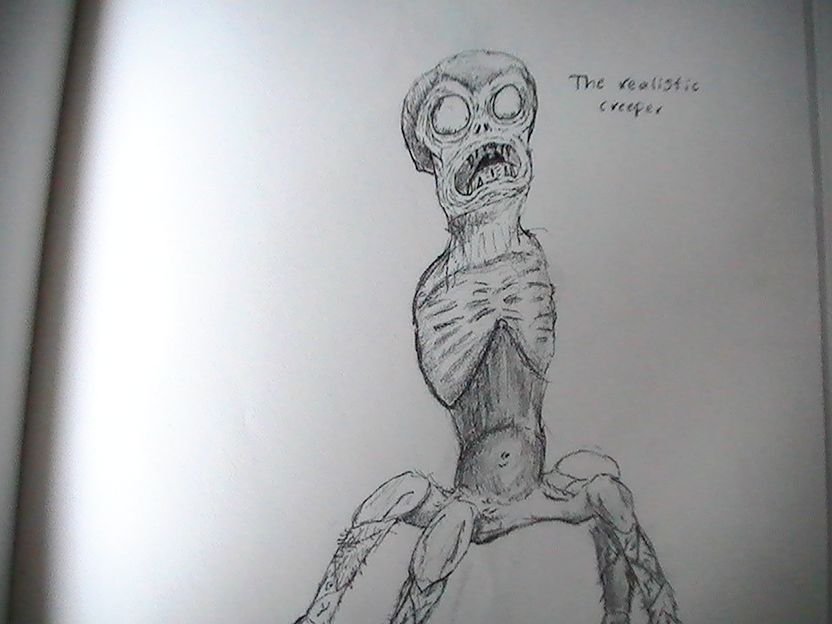 Realistic Creeper V2