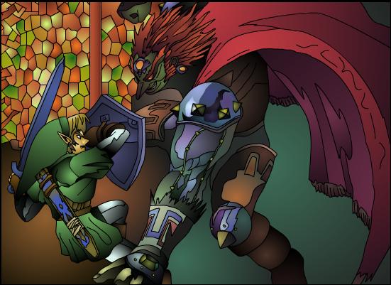 Link Versus Ganondorf