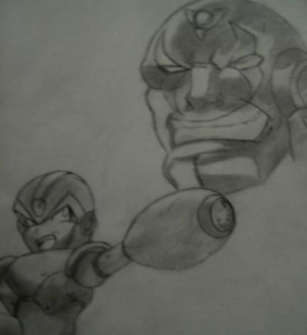 Megaman X & Sigma