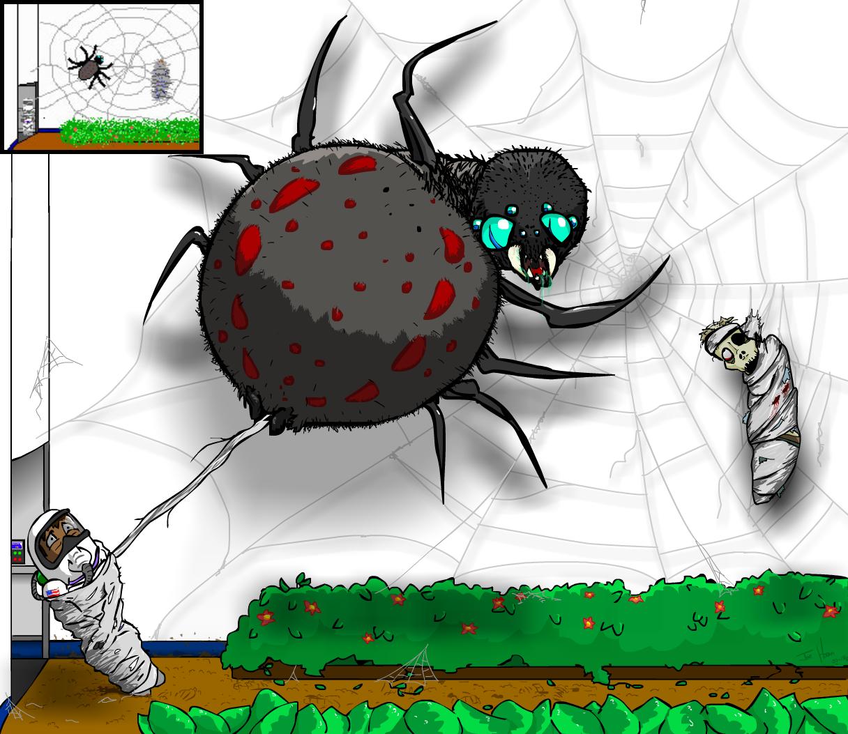 Earthrise - Garden Spider