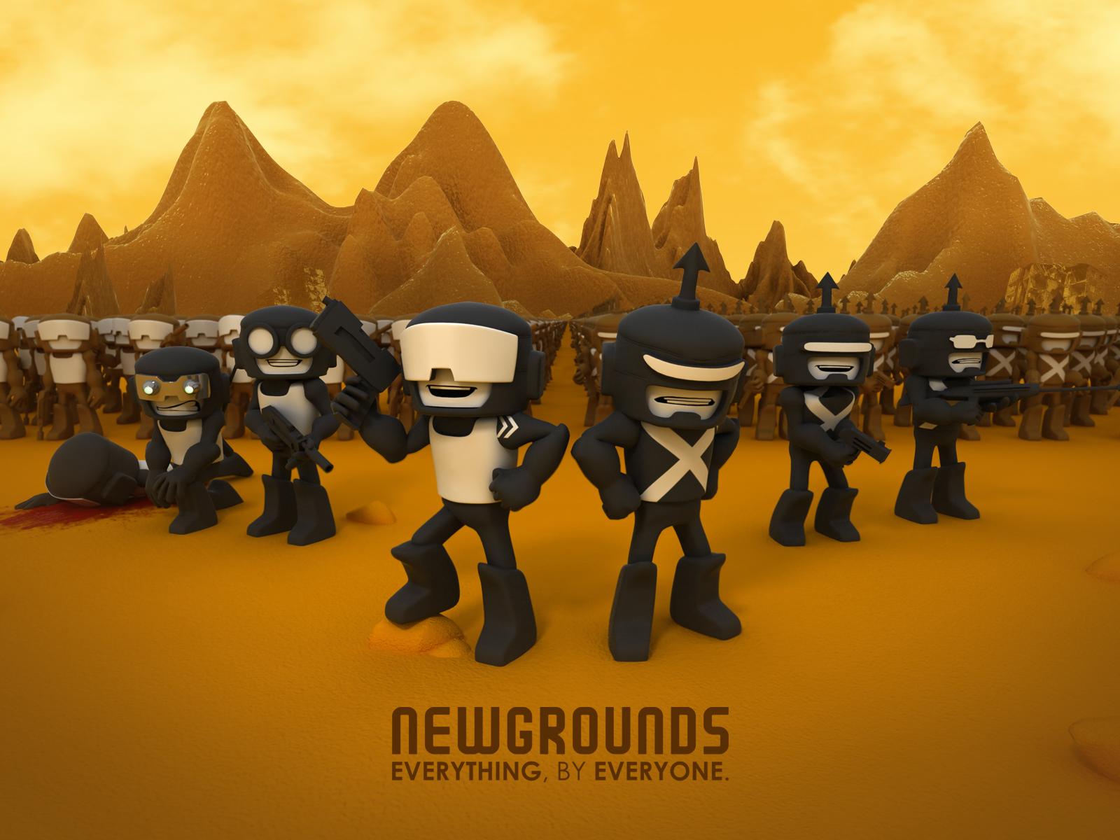 NewGrounds 3D