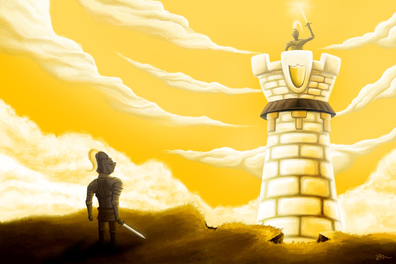 Tower Defense Menu Art