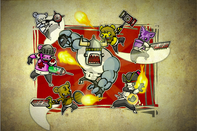 Bearbarians Assemble!