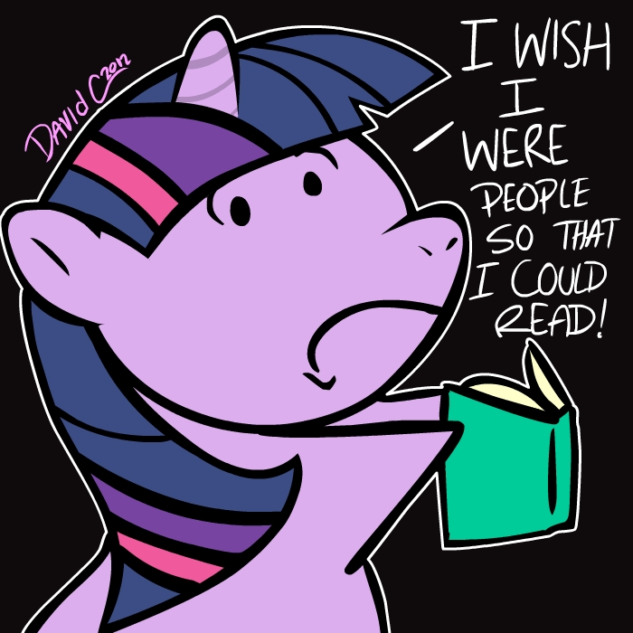 Ponies Can't Read