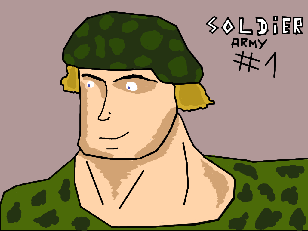 ARMY #1 - Soldier