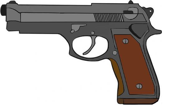 Handgun: Beretta 92fs