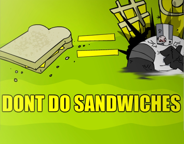 Don't do Sandwiches