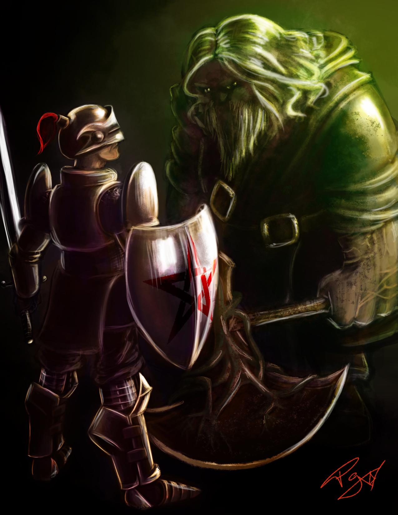 Gawain & The Green Knight
